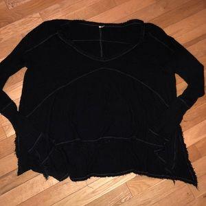 Women's Free People long sleeve thermal top